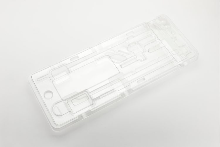 Plastic thermoformed products for medical use: high levels of cleanliness and transparency: